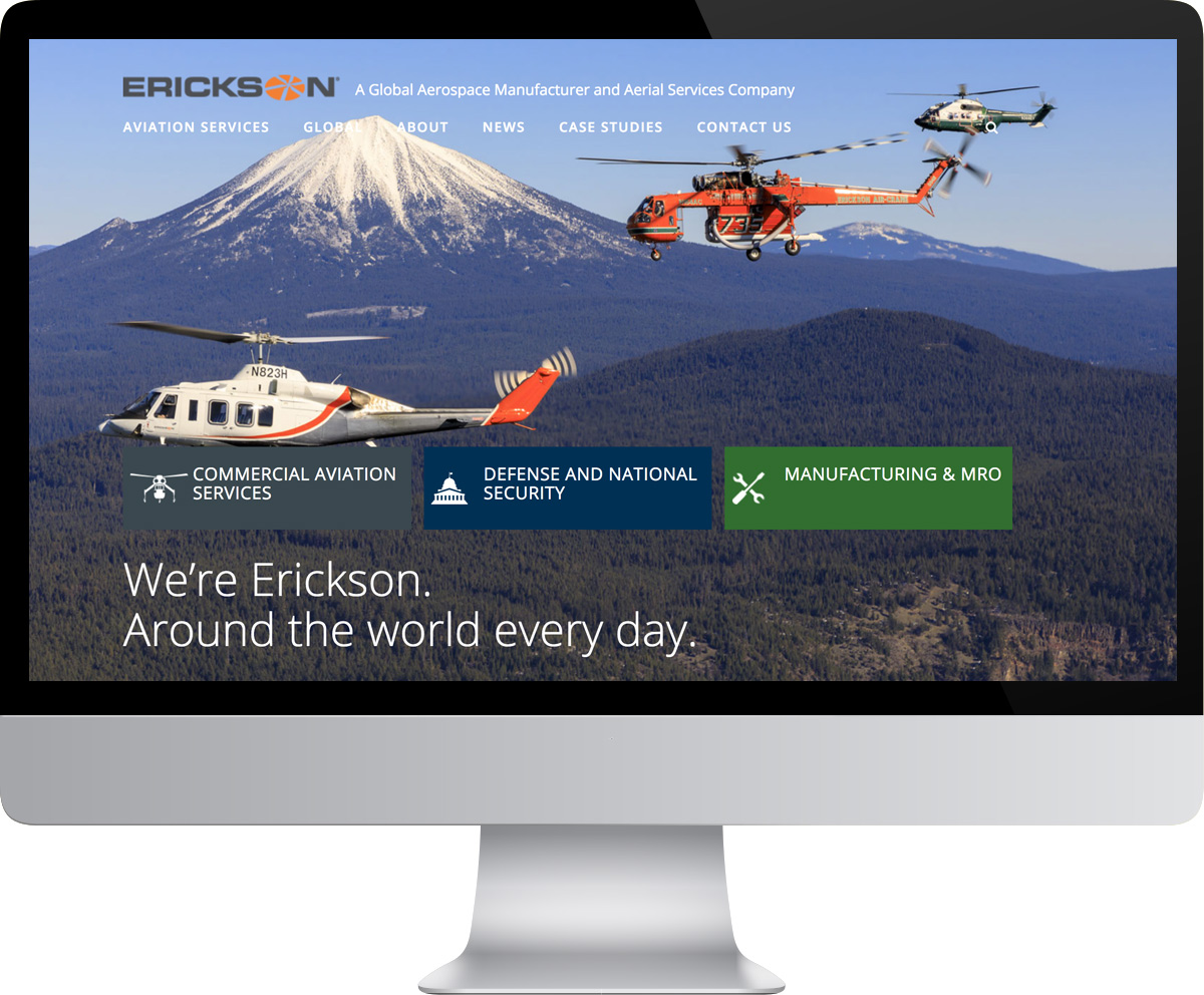 Erickson Incorporated website